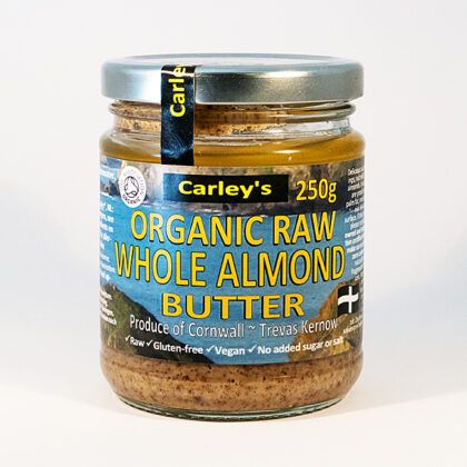 Carley's Raw Whole Almond Butter Organic
