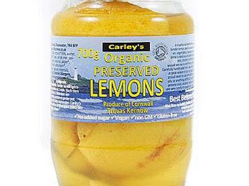 Carley's Preserved Lemons Organic 700g