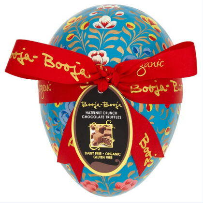 Booja Booja Hazelnut Crunch Truffles In Hand Painted Egg Shaped Box