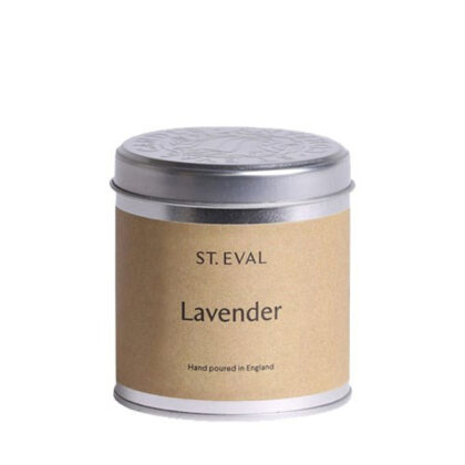 St. Eval Candle Company Lavender Candle in a tin