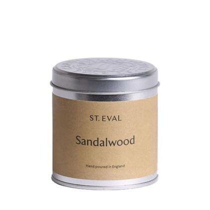 St. Eval Candle Company Sandalwood Candle in a Tin