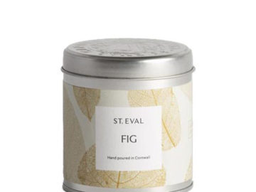 St. Eval Candle Co. Fig Candle in a Tin