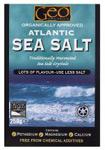 Geo Organics Atlantic Sea Salt Crystals Organic