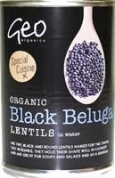 Geo Organics Black Beluga Lentils Organic