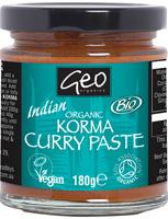 Geo Organics Korma Curry Paste Organic