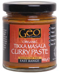 Geo Organics Tikka Masala Curry Paste Organic