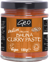 Geo Organics Indian Bhuna Curry Paste Organic