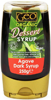 Geo Organics Agave Dark Syrup Organic