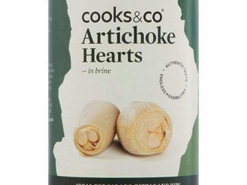 Cooks & Co Artichoke Hearts in Brine