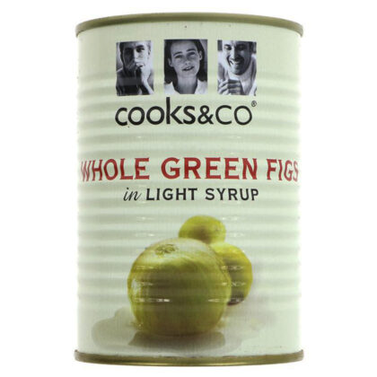 Cook's & Co Whole Green Figs in Light Syrup