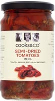 Cooks & Co Semi-Dried Tomatoes In Oil