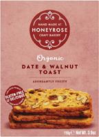 Honeyrose Date & Walnut Toast Organic