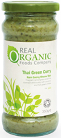 Real Organic Foods Company Thai Green Curry Organic
