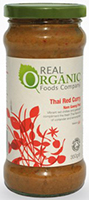 Real Organic Foods Company Thai Red Curry Organic
