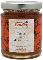 Kitchen Garden Fine Cut Three Fruit Marmalade