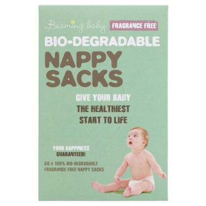 Beaming Baby Biodegradable Nappy Sacks Fragrance Free