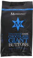Montezuma's Dark Chocolate Giant Buttons Organic