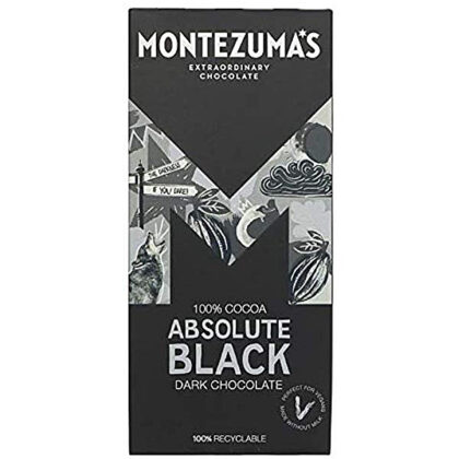 Montezuma's Absolute Black With Almonds