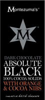 Montezuma's Absolute Black With Orange & Cocoa Nibs
