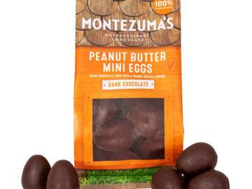 Montezuma's Dark Chocolate Peanut Butter Mini Eggs