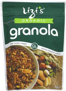 Lizi's Toasted Granola Organic