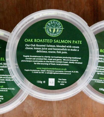 Tregida Oak Roasted Salmon Pate