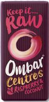 Ombar Centres Raspberry & Coconut Bar Organic