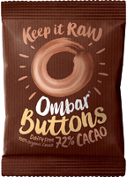 Ombar Raw 72% Cacao Buttons Organic