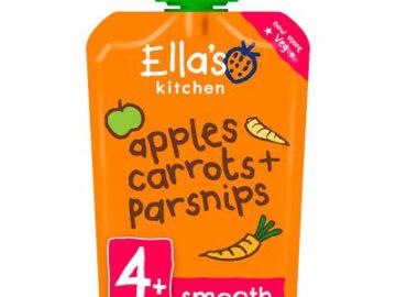 Ella's Kitchen Carrot Apple & Parsnip Baby Food Organic