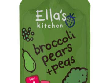 Ella's Kitchen Broccoli Pear & Peas Baby Food Organic