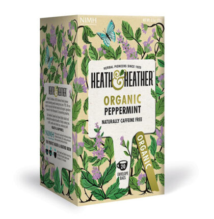 Heath & Heather Peppermint Herbal Infusions Organic
