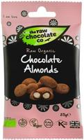 The Raw Chocolate Co. Raw Chocolate Almonds 25g Organic