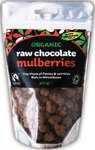 The Raw Chocolate Co. Raw Chocolate Mulberries Organic 125g