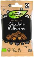 The Raw Chocolate Co. Raw Chocolate Mulberries Organic 28g