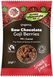The Raw Chocolate Co. Raw Chocolate Goji Berries Organic 28g