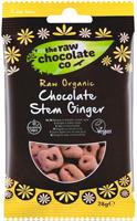 The Raw Chocolate Co. Chocolate Stem Ginger Organic