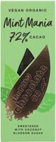 The Raw Chocolate Co. Mint Mania 72% Organic