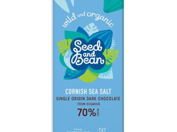 Seed & Bean Co. Cornish Sea Salt Extra Dark Chocolate