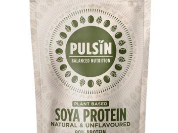 Pulsin Soya Protein Natural