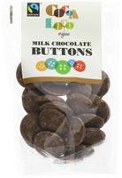 Cocoa Loco Milk Chocolate Buttons Organic