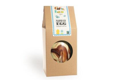 Cocoa Loco Marbled Chocolate Egg Organic