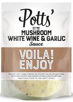 Pott's Mushroom White Wine & Garlic Sauce
