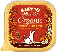 Lily's Kitchen Beef & Spelt Supper Dog Food Organic