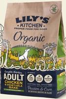 Lily's Kitchen Chicken & Vegetable Bake Organic Dog Food 1Kg