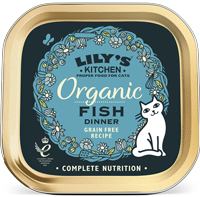 Lily's Kitchen Fish Dinner Organic Cat Food
