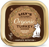 Lily's Kitchen Turkey Dinner Organic Cat Food