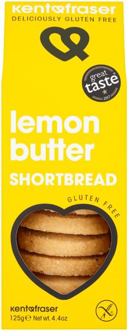 Kent & Fraser Lemon Butter Shortbread