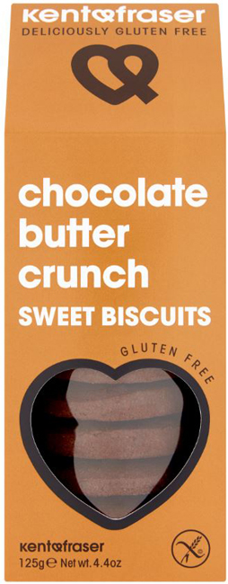 Kent & Fraser Chocolate Butter Crunch Sweet Biscuits