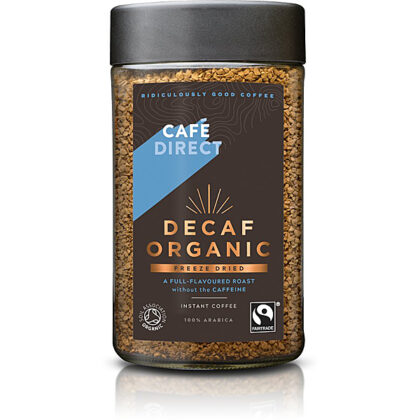 Cafedirect Classic Decaffeinated Instant Coffee Organic