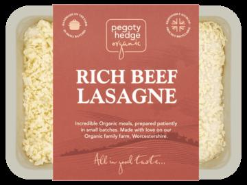 Pegoty Hedge Beef Lasagne